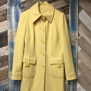 Vintage Yellow Coat